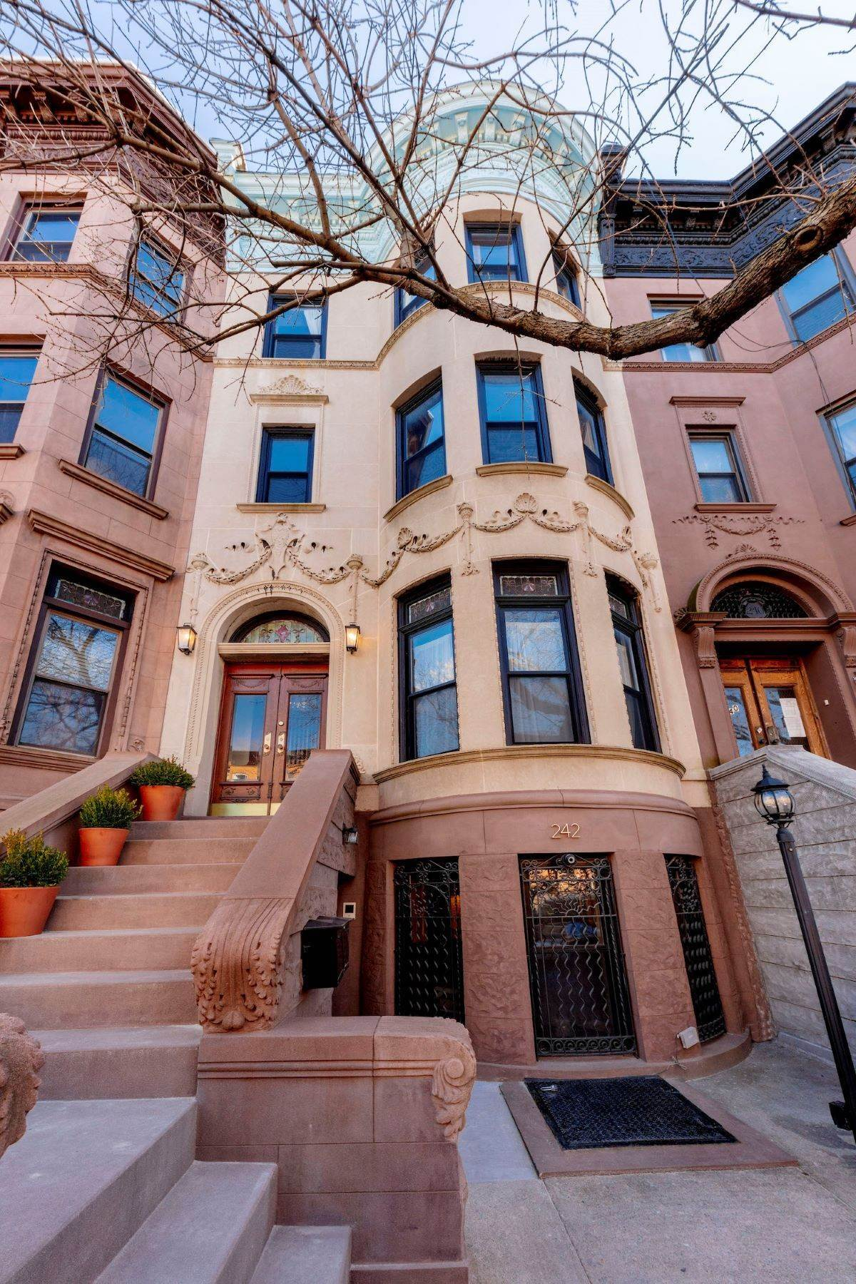 townhouses for Sale at 242 Decatur Street Elegant Limestone Townhouse 242 Decatur Street Brooklyn, New York 11233 United States
