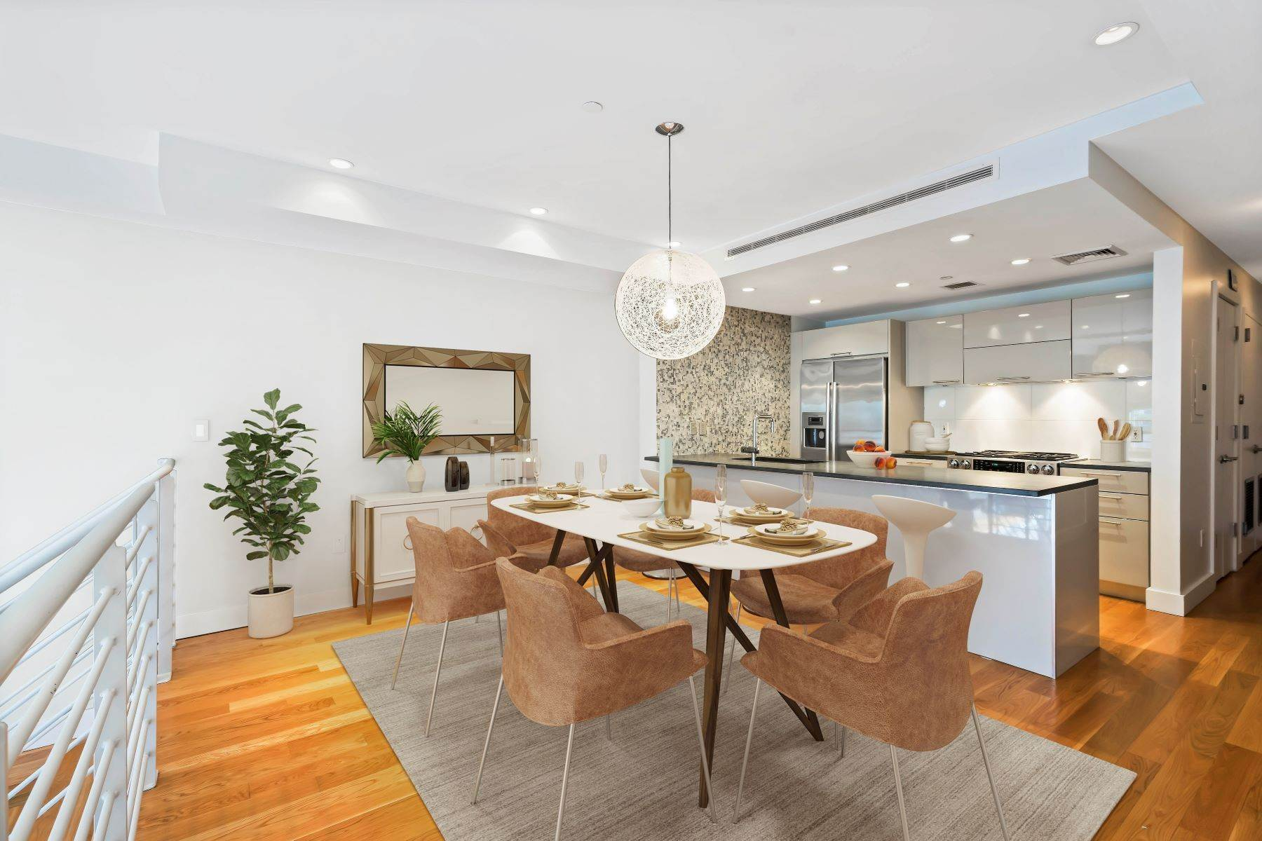 Condominiums for Sale at 152 Withers Street #1B Garden Duplex Condominium 152 Withers Street #1B Brooklyn, New York 11211 United States