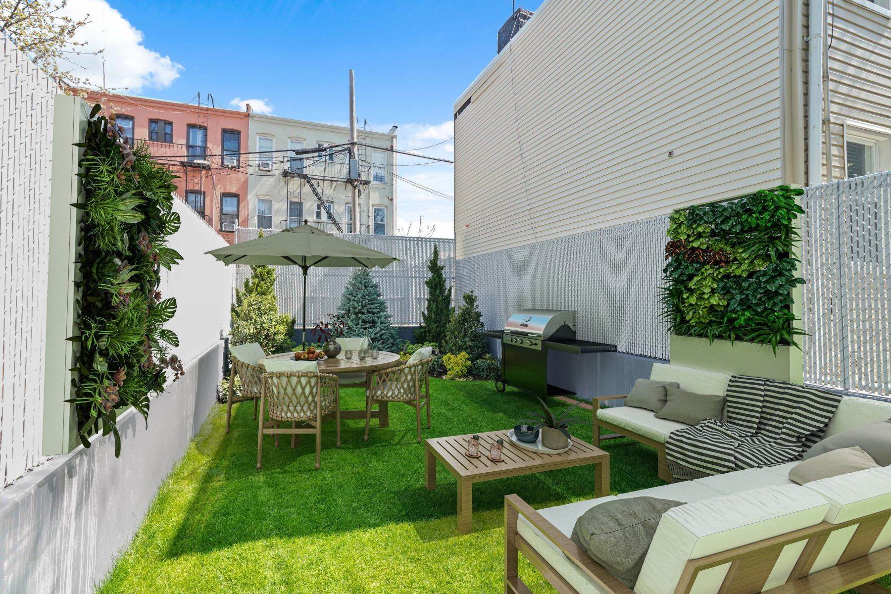Condominiums for Sale at Linden Street Condominiums 400 Linden Street #Garden 400 Linden Street #Garden Brooklyn, New York 11237 United States